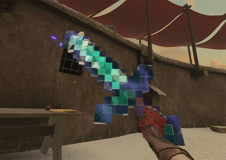 mine and sorcery blade sorcery mod