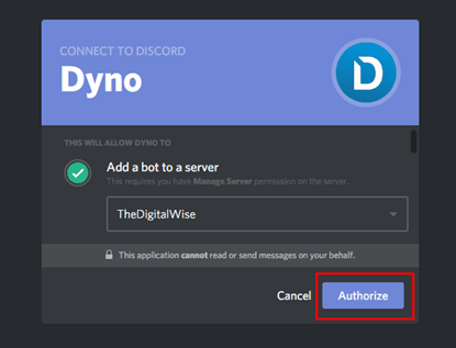 dyno bot commands