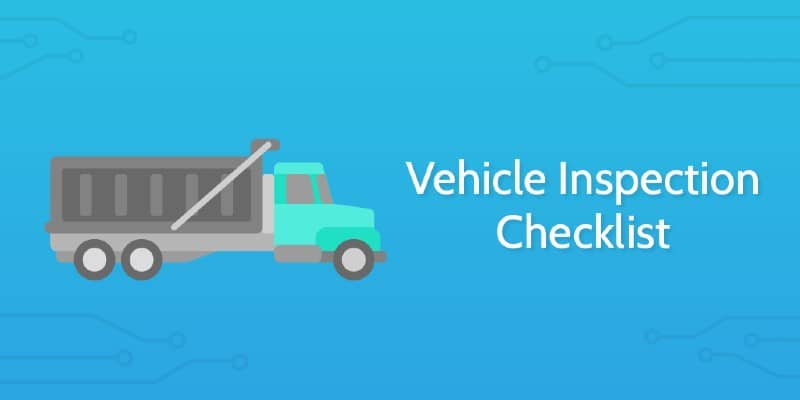 Complete Details On Road Inspection Checklist