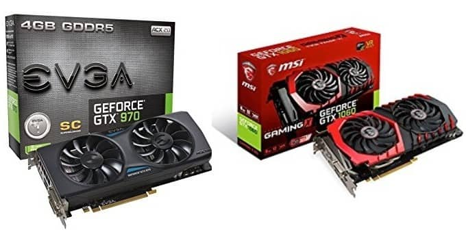 GTX 970 vs 1060